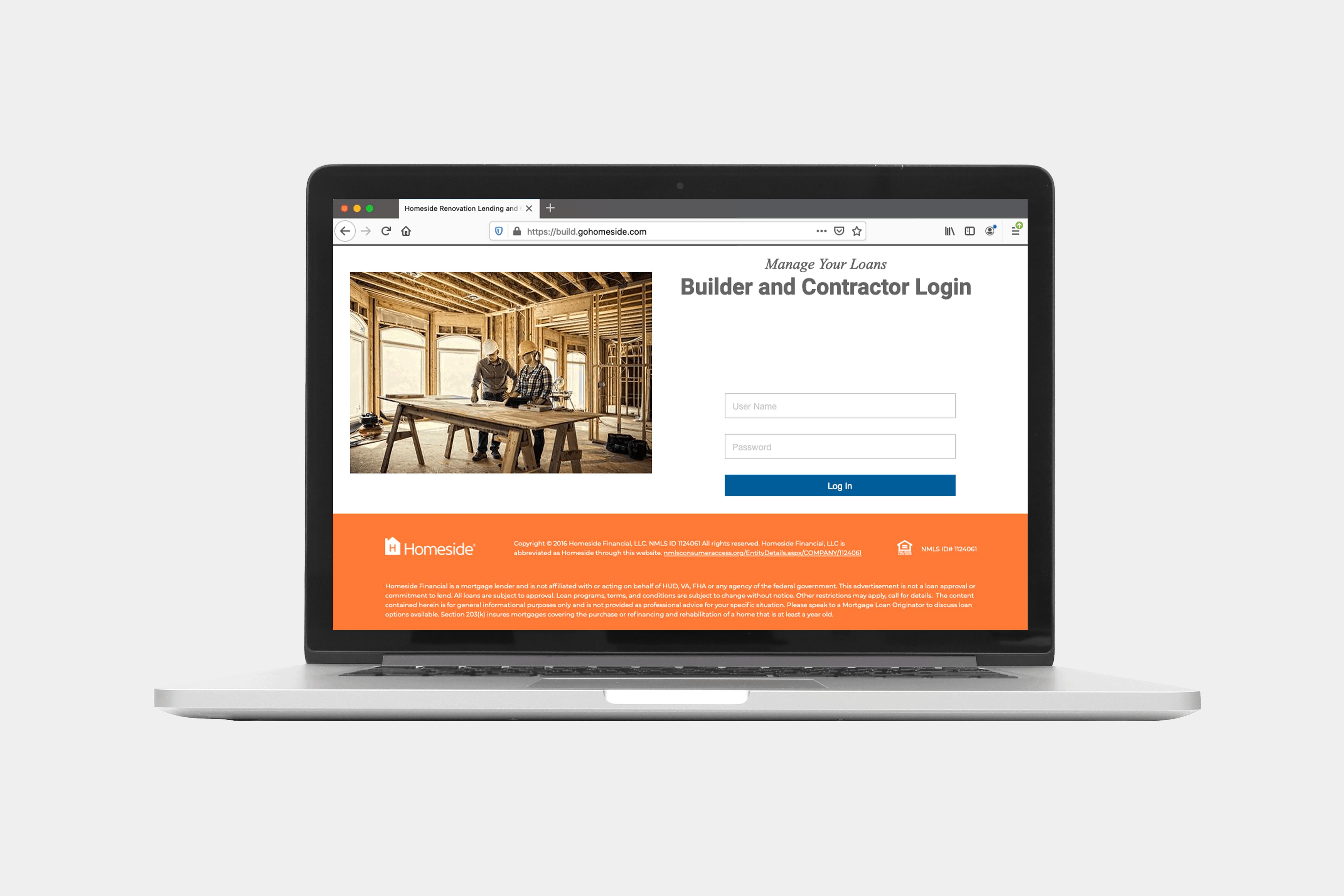 Homeside Financial Borrower Portal Login
