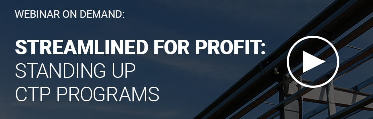 Webinar   Streamlined for Profit: Standing up CTP Lending Programs